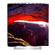 Mesa Arch Sunrise 2 Shower Curtain