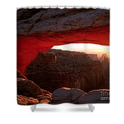 Mesa Arch Sunrise Shower Curtain