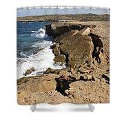 Natural Bridge Oranjestad Aruba Shower Curtain
