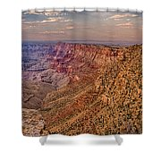 Navajo Viewpoint In Grand Canyon National Park Shower Curtain