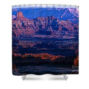 Needles Overlook  Shower Curtain