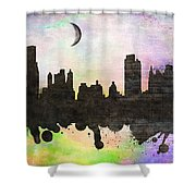 New York 6 Shower Curtain