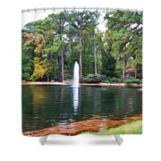 Norfolk Botanical Gardens 2 Shower Curtain