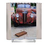 Old Old Car Shower Curtain