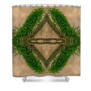 Orchard In The Sky Shower Curtain
