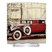Packard Standard Eight Convertible Shower Curtain