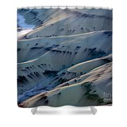 Painted Hills 7 Shower Curtain