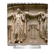 Palace Of Fine Art Relief  Shower Curtain