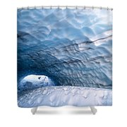 Paradise Ice Caves Shower Curtain