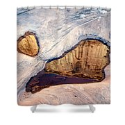 Park Avenue Potholes Shower Curtain