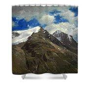 Peaks In The Rockies Shower Curtain