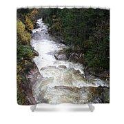 Pemigewasset River Franconia Notch Shower Curtain