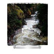 Pemigewasset River White Mountains Shower Curtain