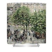 Place Du Theatre Francais Shower Curtain