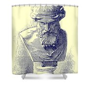 Plato Shower Curtain