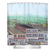 Portsmouth Ohio 1948 Dime Store Row 3rd To 4th Shower Curtain