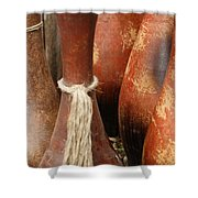 Pottery Jugs Shower Curtain