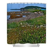Rocky Harbour In Gros Morne Np-nl Shower Curtain
