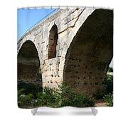 Roman Bridge Pont St. Julien Shower Curtain