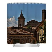 Rooftop Of The City Shower Curtain