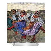 Russian Dancers Shower Curtain