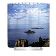 Russian Far East Shower Curtain by Anonymous