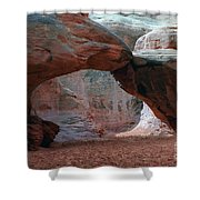 Sand Dune Arch - Arches National Park Shower Curtain