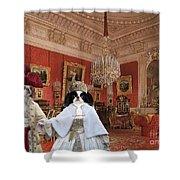 Japanese Chin Art Canvas Print  Shower Curtain