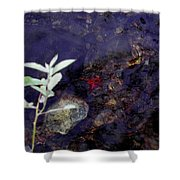 Semi Abstract Nature 2 Shower Curtain