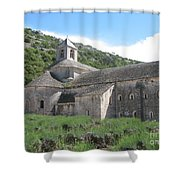 Senanque Abbey Shower Curtain