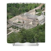 Senanque Abbey View Shower Curtain