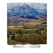 Sierras Mountains Shower Curtain