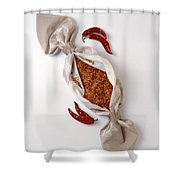 Chilli Peppers Shower Curtain