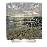 Skerries Ocean View Shower Curtain