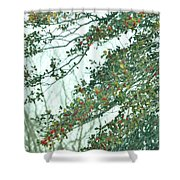 Spring Drops Shower Curtain