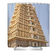 Sri Chamundeswari Temple Shower Curtain