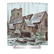 St Mary And All Saints Boxley Shower Curtain