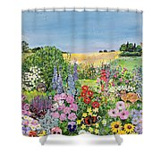 Summer From The Four Seasons Shower Curtain