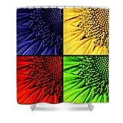 Sunflower Medley Shower Curtain