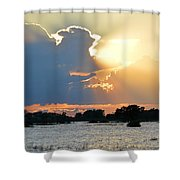 Swallowing The Sun Shower Curtain