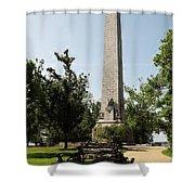 Tercentennial Jamestown Monument Shower Curtain