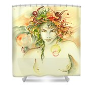 The Capricorn Shower Curtain