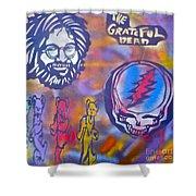 The Grateful Dead Shower Curtain