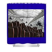 The Hall Of Giants Shower Curtain