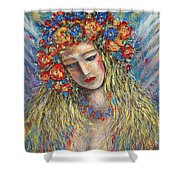The Loving Angel Shower Curtain