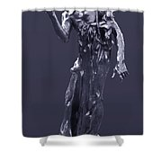 The Sculpture Of Auguste Rodin Shower Curtain