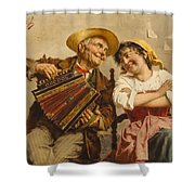 The Serenade Shower Curtain