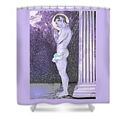 Submissive Faithful  Shower Curtain