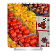 Tomatoes Nj Special Shower Curtain