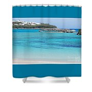 A Vision Of Turtle Bay, Bermuda Shower Curtain
